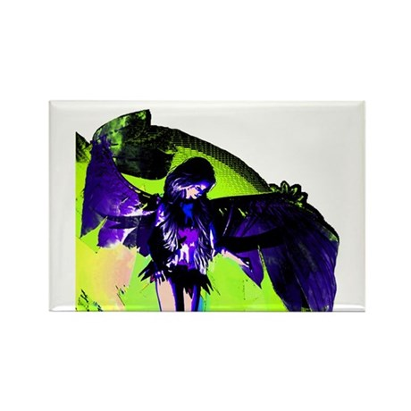 Angel Art Rectangle Magnet (100 pack)