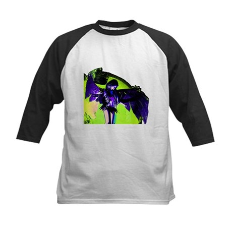 Angel Art Kids Baseball Jersey