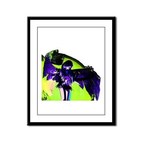Angel Art Framed Panel Print