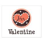 Her Valentine Valentine's Day Small Poster