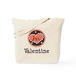 Her Valentine Valentine's Day Tote Bag