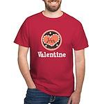 Her Valentine Valentine's Day Dark T-Shirt