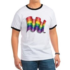 GAY PRIDE RAINBOW FLAG T