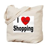 I Love Shopping for Shoppers Tote Bag