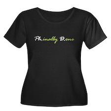 phdforblack Plus Size T-Shirt