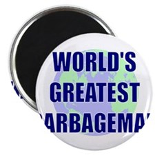 "World's Greatest Garbageman 2.25"" Magnet (100 pack"