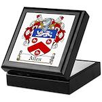 Allen Family Crest Keepsake Box