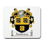 Ambrose Family Crest Mousepad