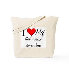I Heart My Vietnamese Grandma Tote Bag