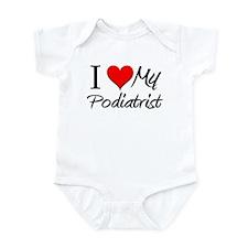 I Heart My Podiatrist Infant Bodysuit