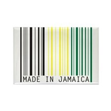 made in jamaica Rectangle Magnet