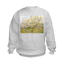 Van Gogh The White Orchard Sweatshirt