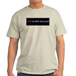 I Love My Spicy Hunan Girl Ash Grey T-Shirt
