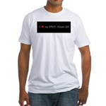 I Love My Spicy Hunan Girl Fitted T-Shirt