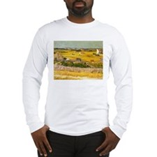 Van Gogh The Harvest Long Sleeve T-Shirt