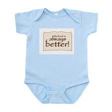 Book is Better Infant Bodysuit