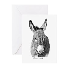 Wild Burro Greeting Cards (Pk of 20)