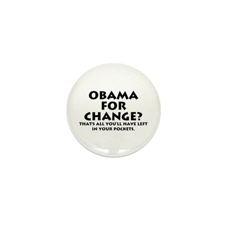 Anti-Obama Mini Button