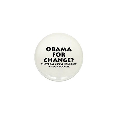 Anti-Obama Mini Button (100 pack)