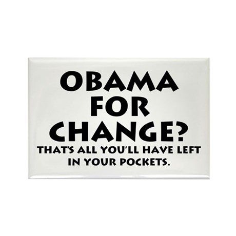 Anti-Obama Rectangle Magnet (100 pack)