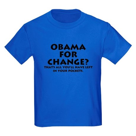 Anti-Obama Kids Dark T-Shirt