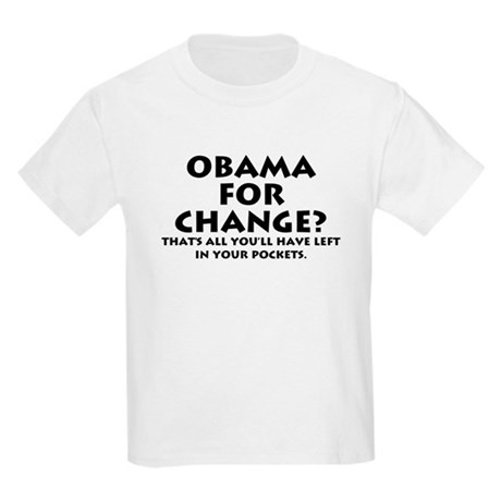 Anti-Obama Kids Light T-Shirt