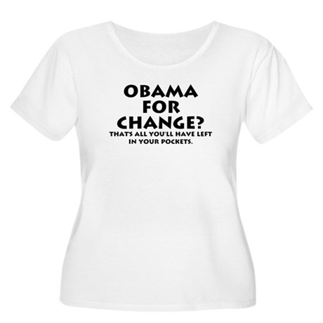 Anti-Obama Women's Plus Size Scoop Neck T-Shirt