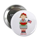 "Summer Girl 2.25"" Button"