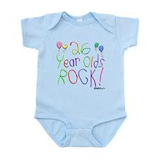 26 Year Olds Rock ! Infant Bodysuit