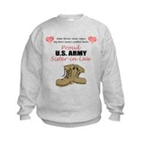 Proud US Army Sister-in-Law Sweatshirt