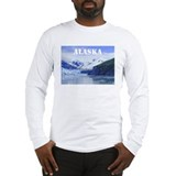 Beautiful Scenic Alaska Long Sleeve T-Shirt