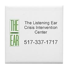 Listening Ear Tile Coaster