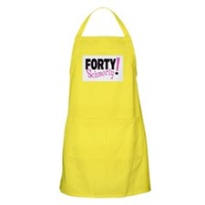 Forty Schmorty BBQ Apron