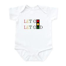 Let God Infant Bodysuit
