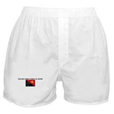 PAPUA NEW GUINEA IS WHERE IT  Boxer Shorts