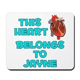 This Heart: Jayne (B) Mousepad