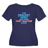 Coolest: Fort Shafter, HI Women's Plus Size Scoop