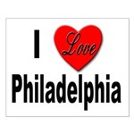 I Love Philadelphia Small Poster