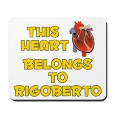 This Heart: Rigoberto (A) Mousepad