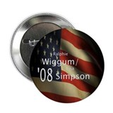 "Wiggum / Simpson for President 2.25"" Button (100 p"