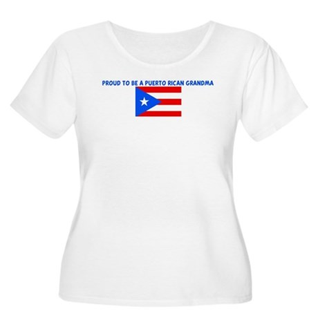 PROUD TO BE A PUERTO RICAN GR Women's Plus Size Sc