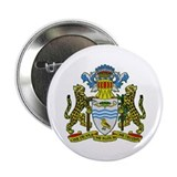 "Guyana Coat of Arms 2.25"" Button (10 pack)"