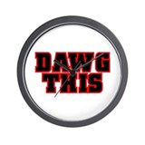 Original DAWG THIS! Wall Clock