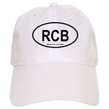 Republic of the the Congo Oval Baseball Cap