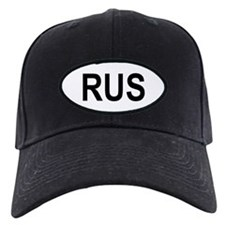 Russia Oval Baseball Hat