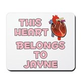 This Heart: Jayne (C) Mousepad