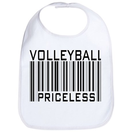 Volleyball Priceless Bar code Bib