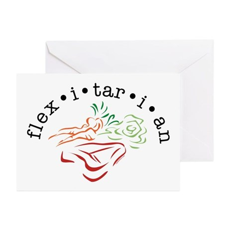 Flexitarian Greeting Cards (Pk of 20)
