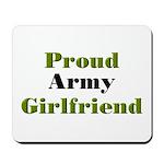 Proud Army Girlfriend Mousepad