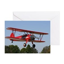 Stearman airplane Greeting Cards (Pk of 10)
